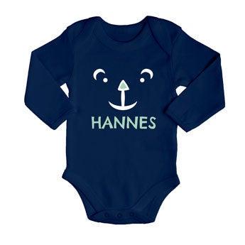 Baby Body Navy - Langarm