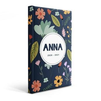 Personlig skole dagbok 2020/2021 - Mykt cover