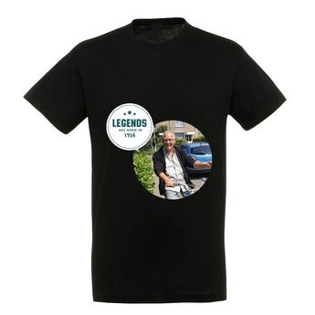 T-shirt - Homme - Noir - L