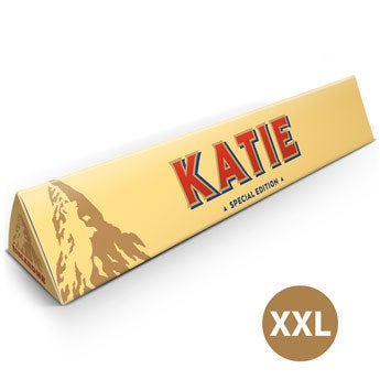 Barra de chocolate Toblerone  XXL - 4.5 kg
