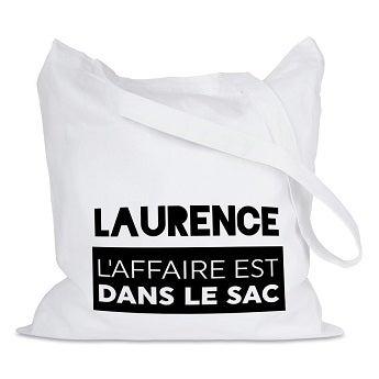 Tote bag personnalisé - 3 pièces