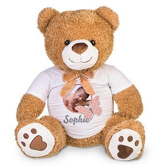 Basile l'ours - Peluche géante