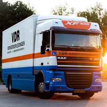 Vrachtwagen rijden
