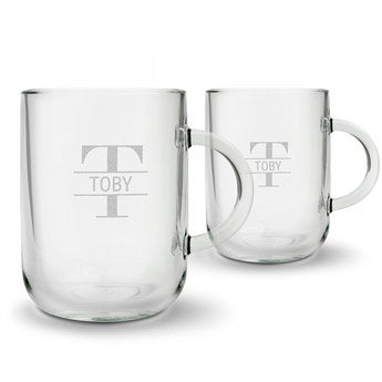 Teglas – Rundt (sæt med 2)