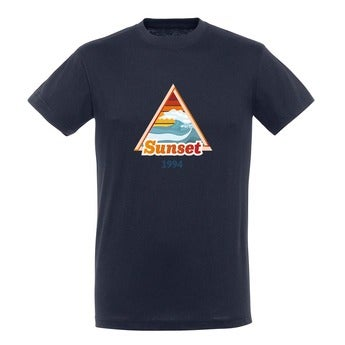 T-shirt - Homme - Marine - M