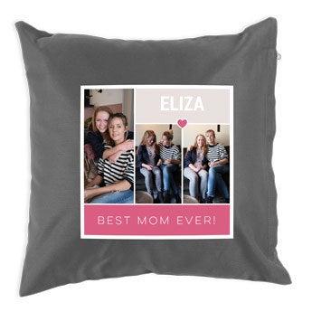 Mother's Day cushion - Dark Grey