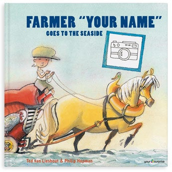 Farmer Boris is going to the seaside - XXL - Hardcover