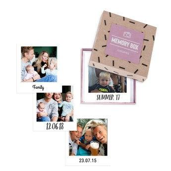 Printed photos in gift box - Polaroid (24)