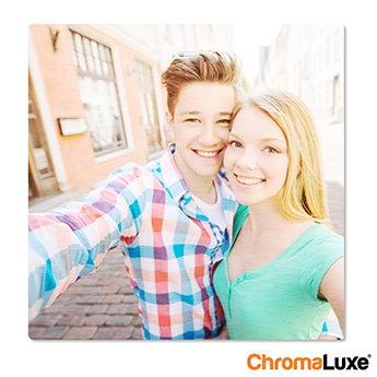 Chromaluxe Aluminium photo - Brushed - 60x60cm