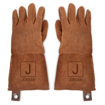 BBQ Handskar i Läder