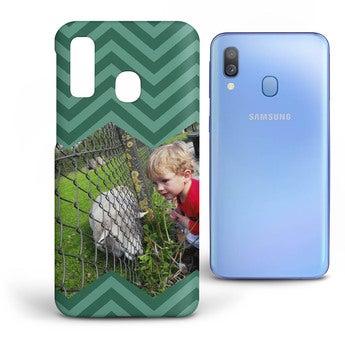 Galaxy A40 mobildeksel - Heldekkende trykk