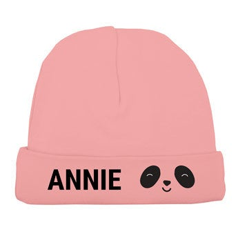 Cappello da bambino - rosa tenue