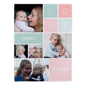Cobertor - Edição do Dia da Mãe- 75 x 100 cm