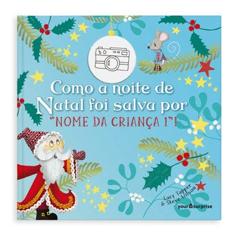 Livro personalizado - Salvando o Natal