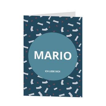 Valentinstag Karte - M - Vertikal