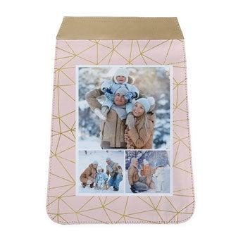 Rabat interchangeable pour grand sac à bandoulière - beige
