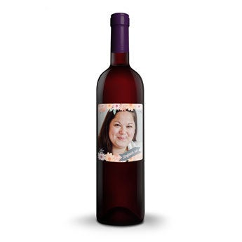 Salentein Merlot - personalisiertes Etikett