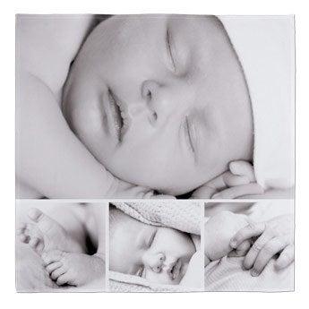 Fleecefilt - foto - 150x150 cm