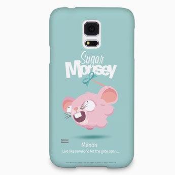 Sukker Mousey mobil taske - Galaxy S5 - 3D print