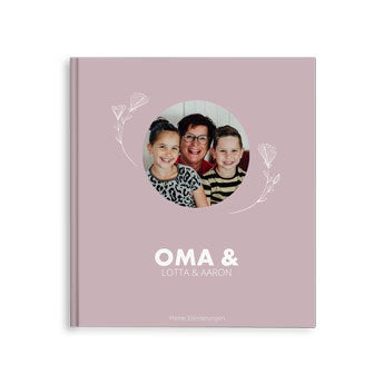 Fotobuch für Oma - Oma & ich/wir -M-HC (40)
