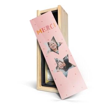 Maison de la Surprise Chardonnay - In personalised wooden case