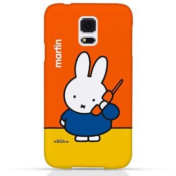 Miffy Handyhülle Galaxy S5 - rundum bedruckt