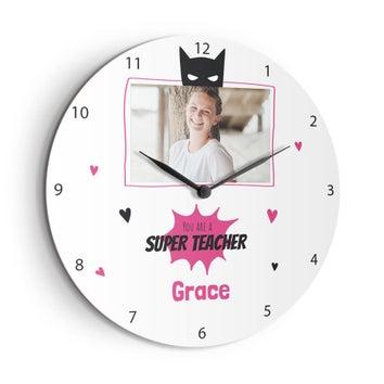 Klokke til lærere - Large