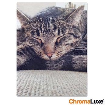 Chromaluxe Aluminium photo - Brushed - 30x60cm