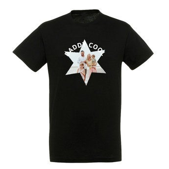 T-shirt - Man - Zwart - XL