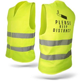 Gilet jaune de sécurité - S/M