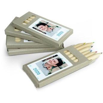 Lápis de cor - 20 caixas