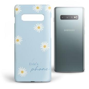 Galaxy S10 - kryt s potlačou a vložkou