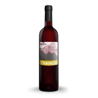 Vinho com etiqueta personalizada - Mwa De Meler Somontano