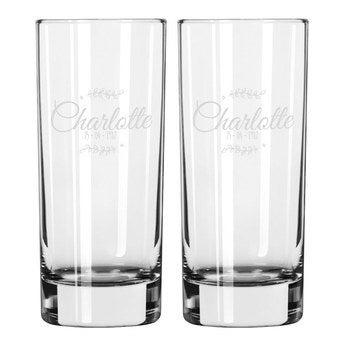 Longdrinkglas (2 stycken)