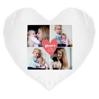 Kissen Muttertag -  Herz