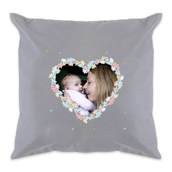 Mother's Day cushion - Light Grey
