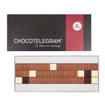 Chocotelegram - 3x12 Buchstaben