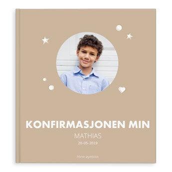Fotoalbum - Min konfirmasjon - XL - SP - (40)