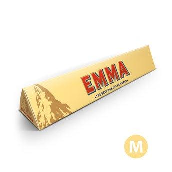 Barra de chocolate Toblerone del Día de la Madre - 200 gramos
