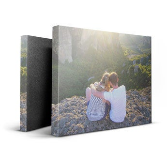 Personalised canvas - 50 x 40 cm