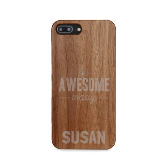 Wooden phone case - iPhone 8 plus