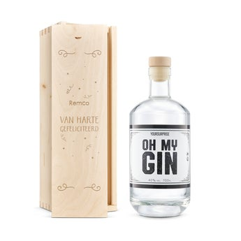 YourSurprise gin - In gegraveerde kist
