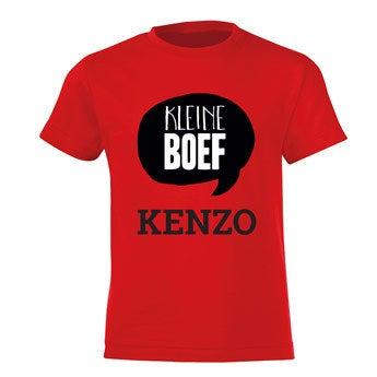 T-shirt - Kids - Rood - 2 jaar