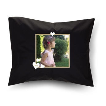 Cushion - Black - 50 x 60 cm