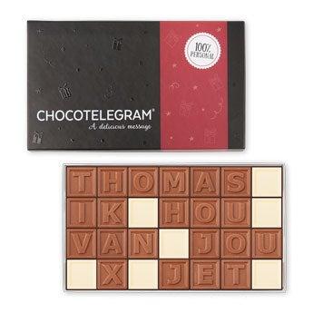 Chocotelegram - 28 letters