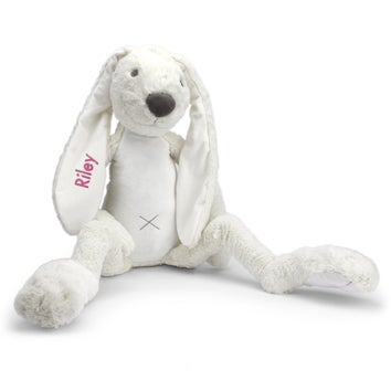 Personalised Giant Rabbit Richie - Ivory
