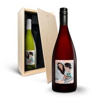 Yalumba Organic - Chardonnay en Shiraz - met etiket
