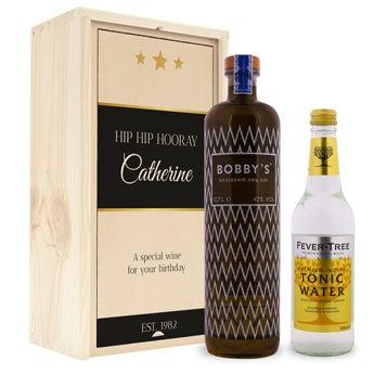 Gin og tonic sæt - Bobby's Gin - Autentisk