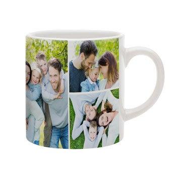 Kleine Tasse mit Foto