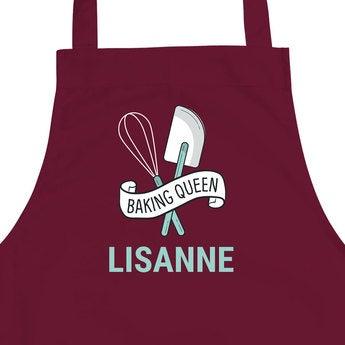 Köksförkläde - Vinrött